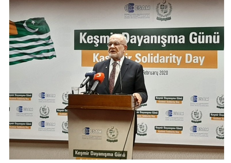 Events mark Kashmir Solidarity Day in Turkey; Indian atrocities condemned & Kashmiris' right to self-determination reiterated