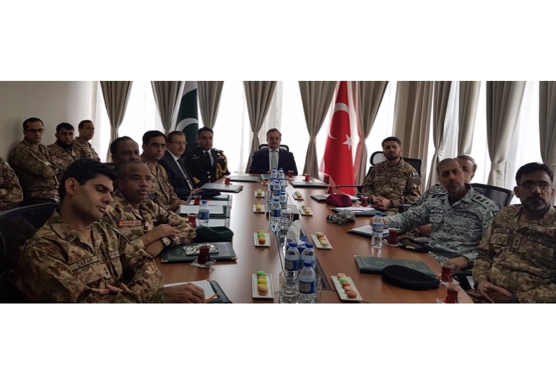 Pakistan's National Defence University delegation visits Turkey