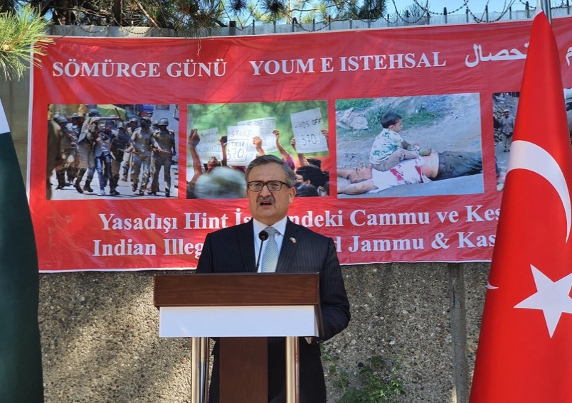 Kashmir Youm-e-Istehsal event in Ankara reaffirmed support to the oppressed people of Indian Illegally Occupied Jammu & Kashmir