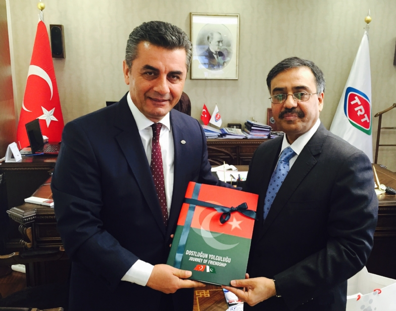 Pakistan and Turkey to enhance media cooperation