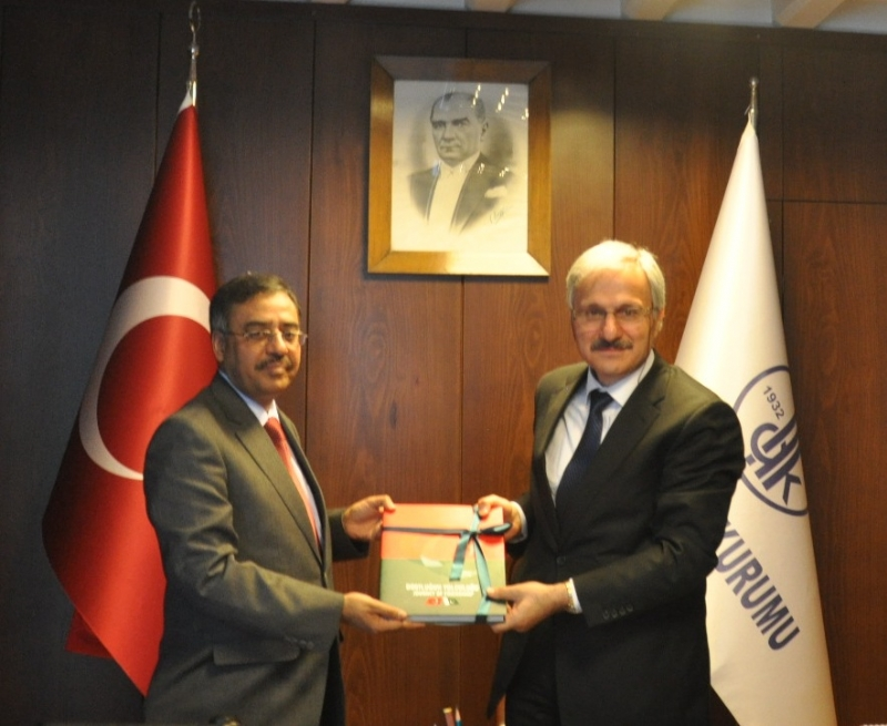 Ambassador Sohail Mahmood visits Turkish Language Institution