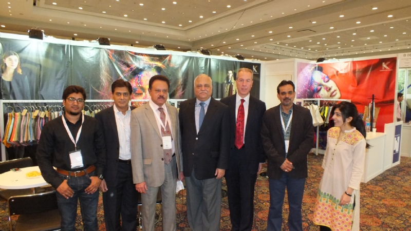 Large-scale Pakistani participation in Texworld exhibition, Efforts on to boost export of high quality Pakistani textile products – Pakistan Envoy