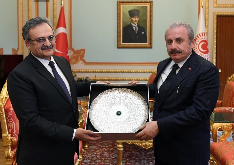 Pakistan Ambassador calls on the Speaker of Turkish Grand National Assembly