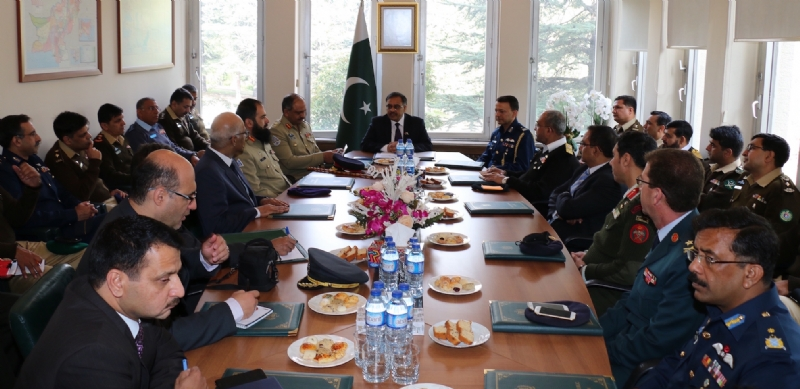 National Defence University delegation on a study tour to Turkey