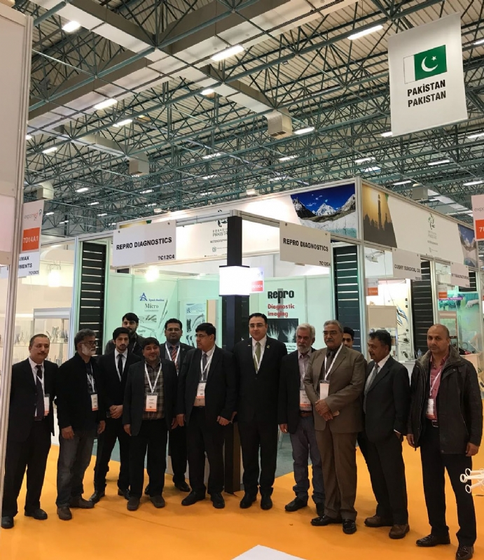 Large-scale Pakistani participation in Expomed Eurasia 2018 Istanbul
