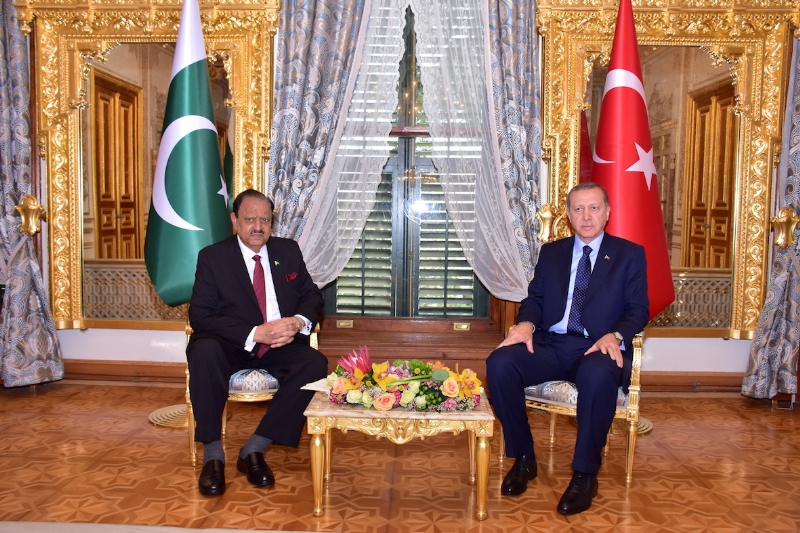 President meets Turkish , Afghan, Belarus, Niger leadership during Istanbul OIC Summit