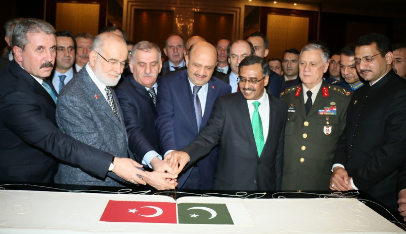 "Highly attended ""Pakistan Day"" reception held in Ankara"