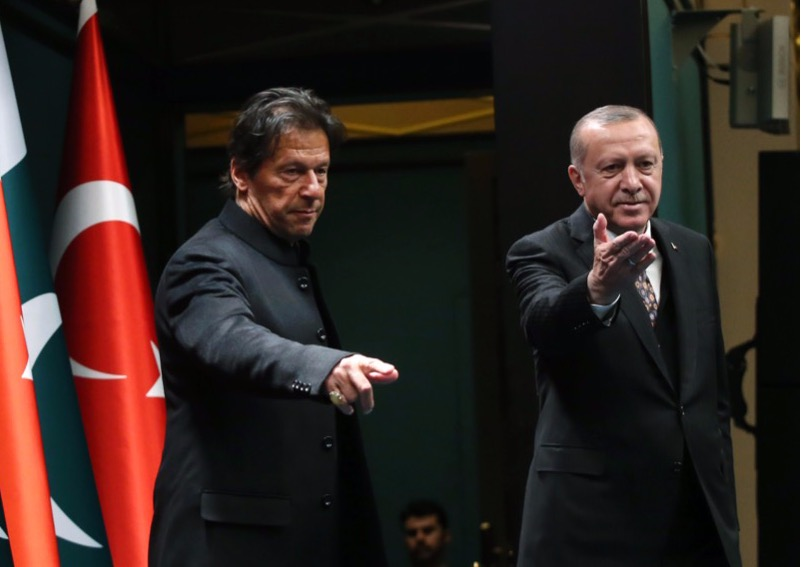 Pakistan Prime Minister Imran Khan congratulated the President of Turkey on his election victory