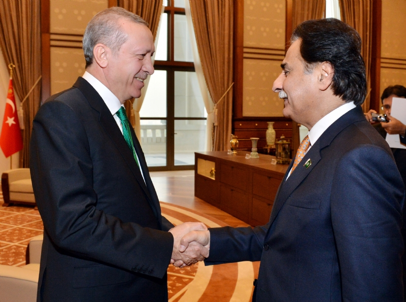 Turkish President receives Speaker National Assembly of Pakistan