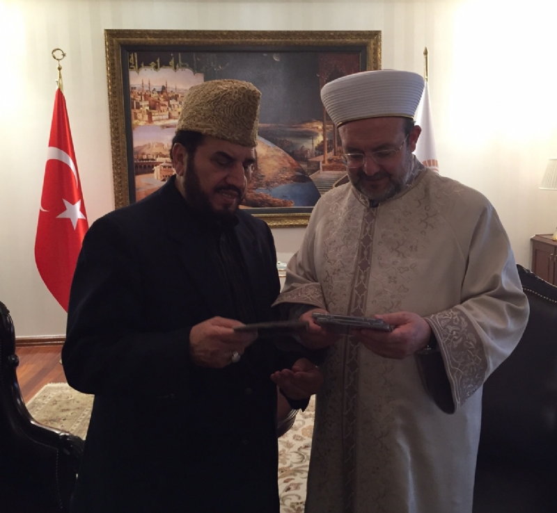 Renowned Qari Sadaqat Ali of Pakistan visits Turkey