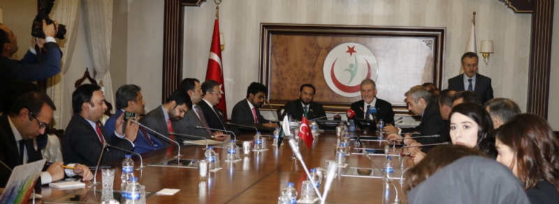 Pakistan-Turkey cooperation rapidly growing in health sector