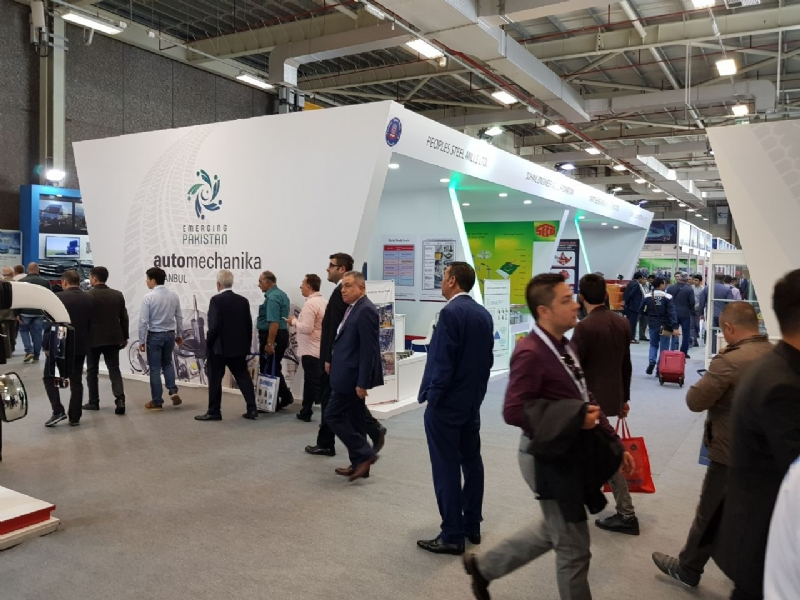 """Pakistan Pavilion"" attracts visitors during Automechanika 2018 Istanbul"