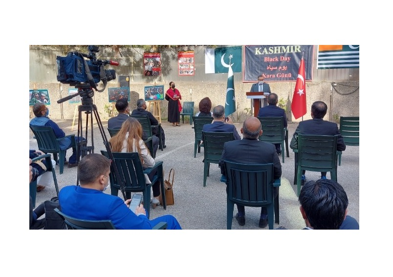 Turkish support for the oppressed Kashmiris reiterated at Black Day event in Ankara