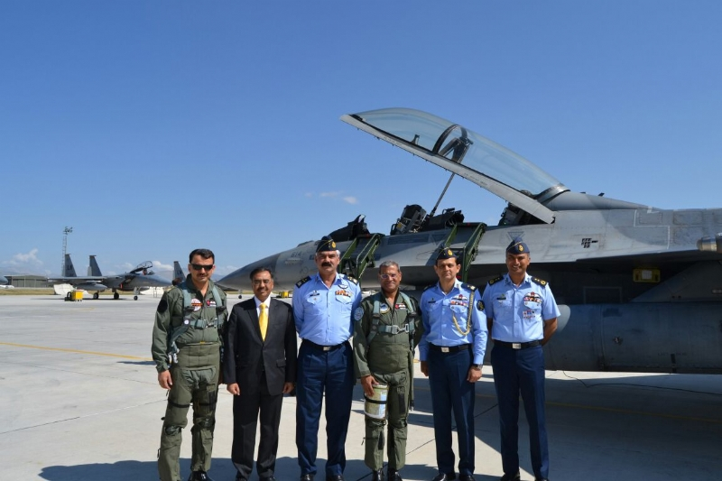 PAF Chief participates in the multinational Anatolian Eagle exercise at Konya