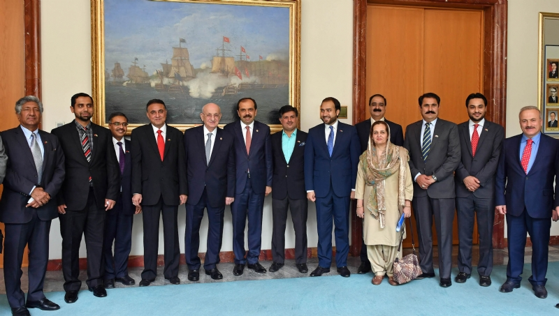 Defence Production Committee of Pakistan Parliament visits Turkey to promote defence ties