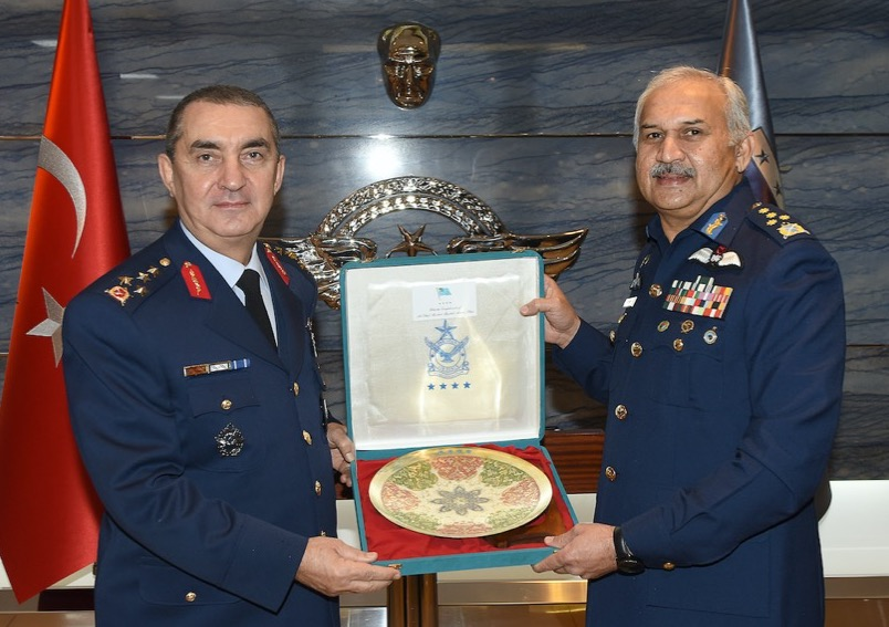 Chief of Air Staff of Pakistan meets with the top military leadership of Turkey