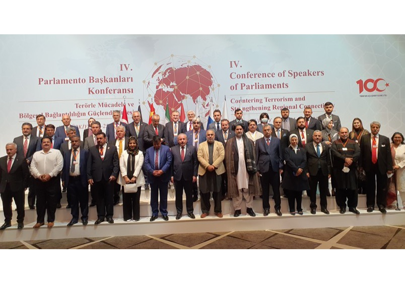 Speaker National Assembly of Pakistan lead Pakistan delegation to the 4th Conference of Speakers of Parliaments in Antalya