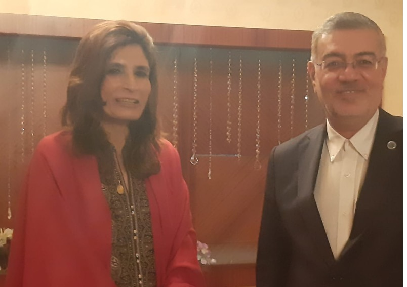 Pakistan Parliamentary Secretary for Foreign Affairs  holds bilateral meetings on the sidelines of ECO Council of Ministers Meeting