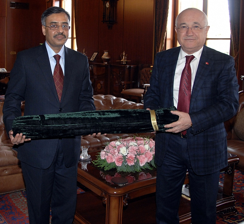 Ambassador of Pakistan calls on Speaker Turkish Grand National Assembly
