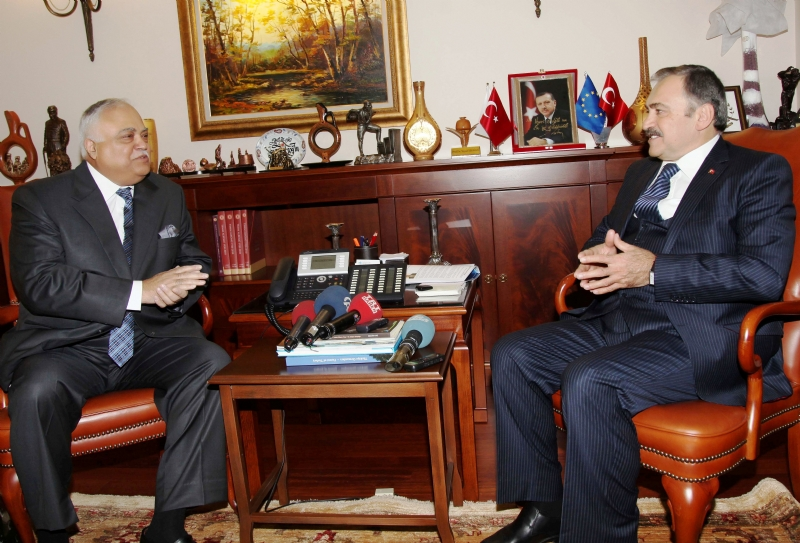 Ambassador of Pakistan discusses energy cooperation with Turkish Minister