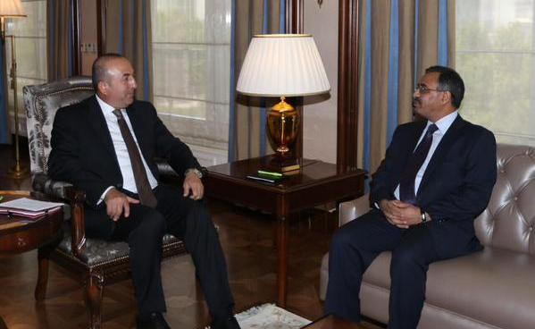 Ambassador Sohail called on Turkish Foreign Minister Mevlüt Çavuşoğlu