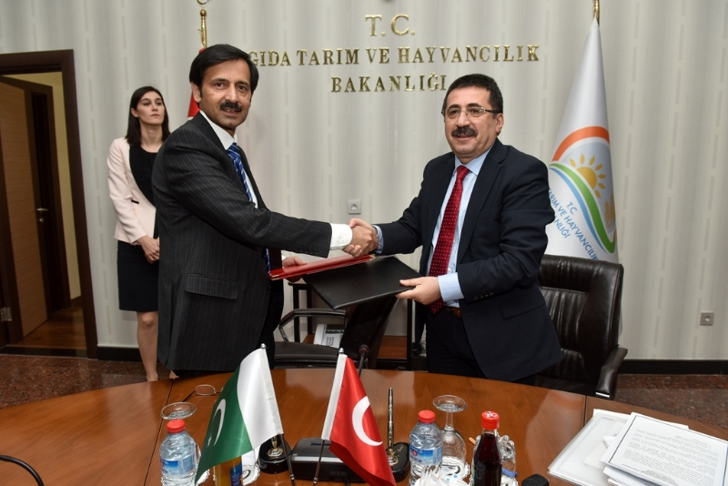 Pakistan and Turkey to collaborate in agriculture sector, agro-based industry