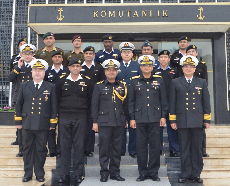 PAKISTAN NAVY WAR COLLEGE DELEGATION COMPLETES VISIT TO TURKEY