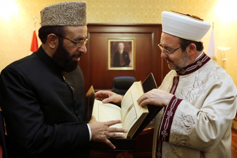 Minister for Religious Affairs of Pakistan visits Turkey