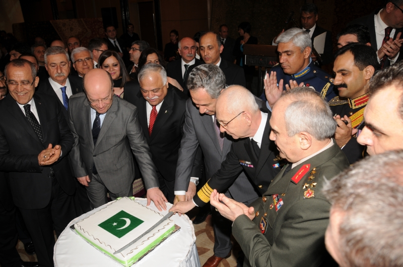Pakistan Day Reception held in Ankara