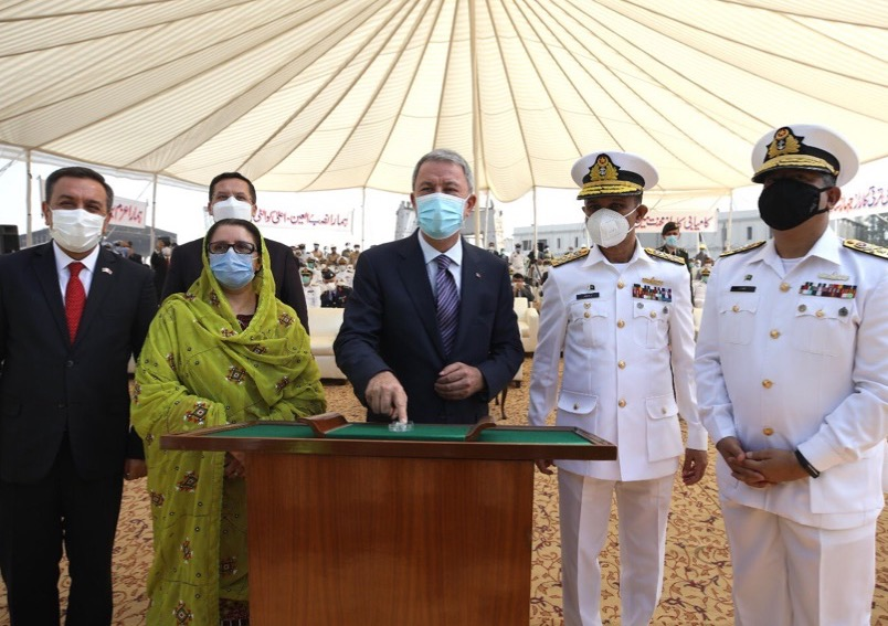 KEEL LAYING OF MILGEM CLASS CORVETTE FOR PAKISTAN NAVY