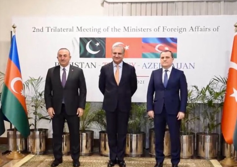 2nd Trilateral Meeting of the Ministers of Foreign Affairs of the Republic of Azerbaijan, the Islamic Republic of Pakistan and the Republic of Turkey 13 January 2021