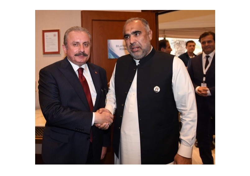 Speaker National Assembly of Pakistan telephoned to Turkish Counterpart