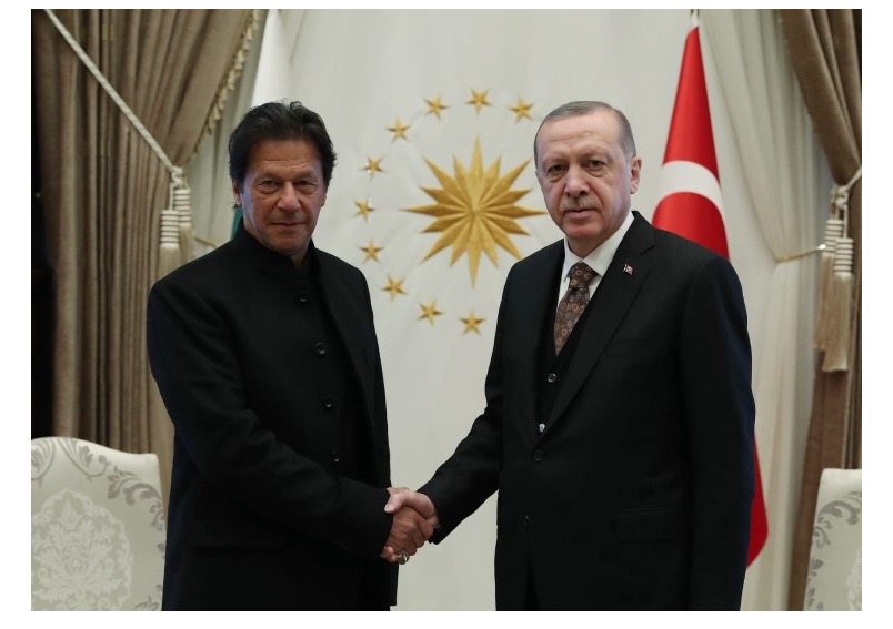 Prime Minister Imran Khan receives call from President of Turkey