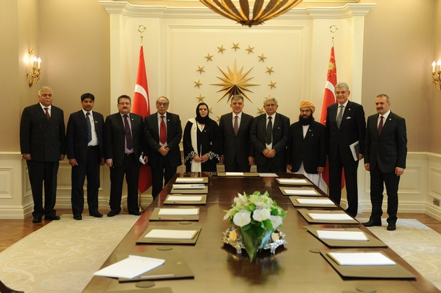 Pakistani Parliamentary delegation meets with Turkish President, TGNA Speaker
