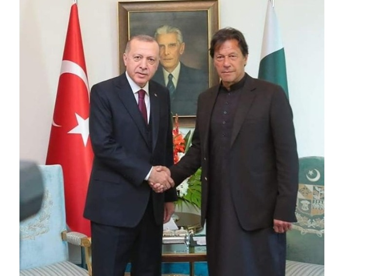 Islamabad, 3 March 2020: PRIME MINISTER'S CALL TO TURKISH PRESIDENT TO REAFFIRM SUPPORT AND SOLIDARITY.
