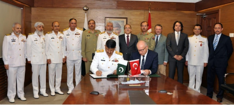 PAKISTAN NAVY SIGNED CONTRACT FOR ACQUISITION OF 4 X MILGEM CLASS WAR SHIPS WITH M/S ASFAT A.S TURKEY
