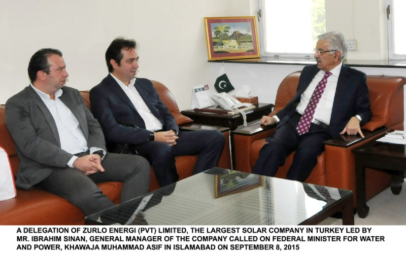 Turkish Renewable Energy Company Zorlu to Make Investment in 200MW Solar and 100 MW in Wind Power Projects in Pakistan