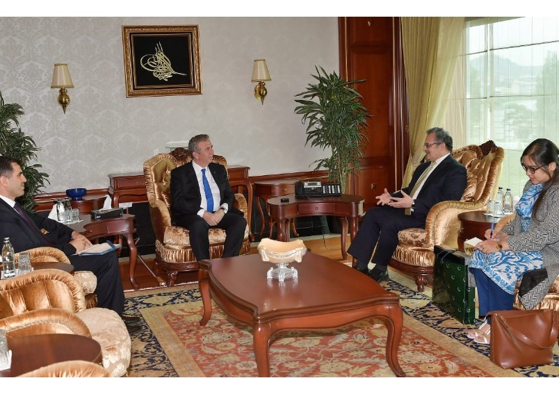 Ambassador Syrus Sajjad Qazi calls on the newly elected mayor of Ankara