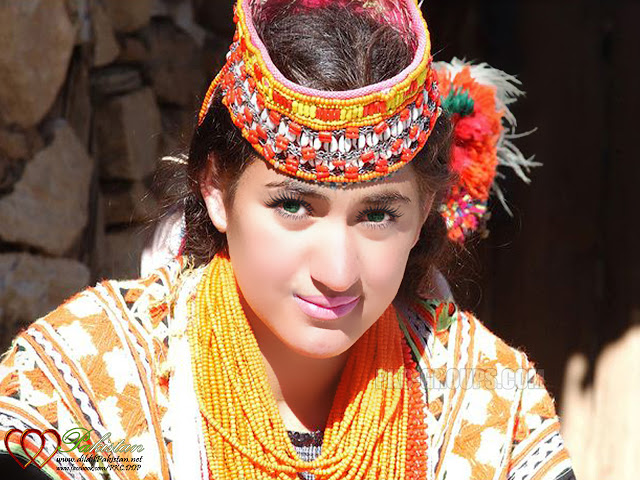 Kailash Girl, Chitral, Pakistan