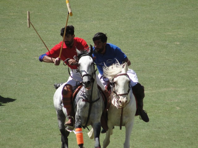 Playing Polo on the world's highest ground at Shandoor, Chitral