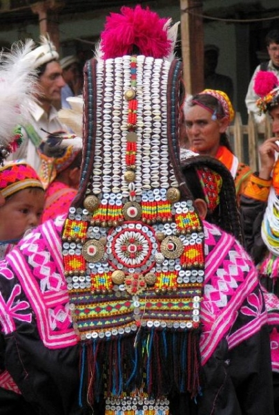 Intricate wearings of Kalash Girls