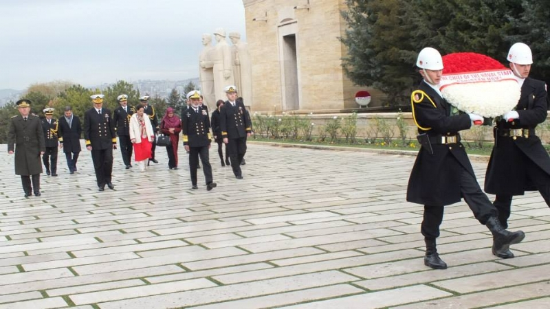 CNS visited Mausoleum of Mustafa Kemal Ataturk