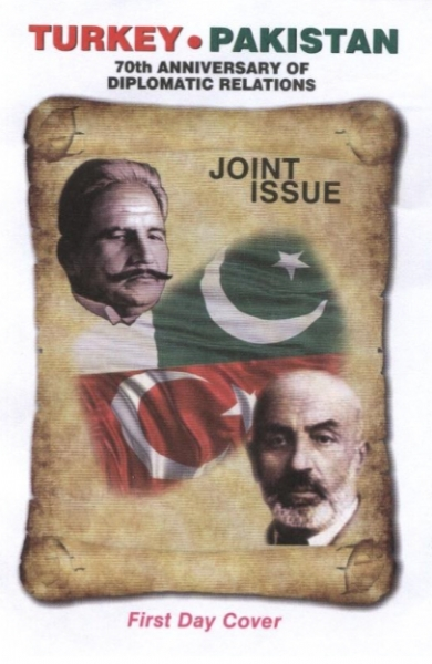 First Day Cover as issued by Pakistan Post