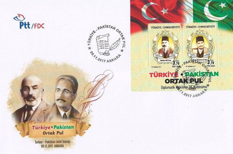 First Day Cover as issued by PTT