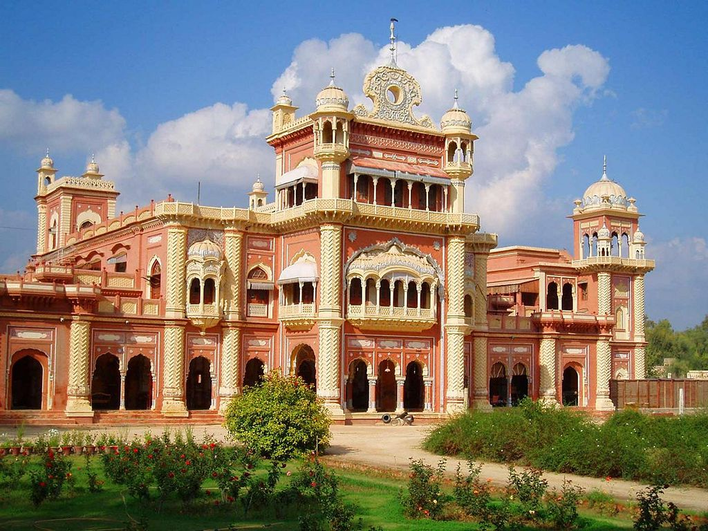 Faiz Mahal Khairpur was built in 1798 AD as palace for the Talpur family