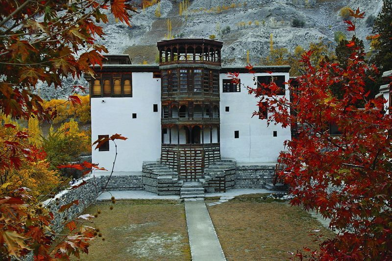 Fort - Khaplu Fort 19th Century in Ghanche District of GB